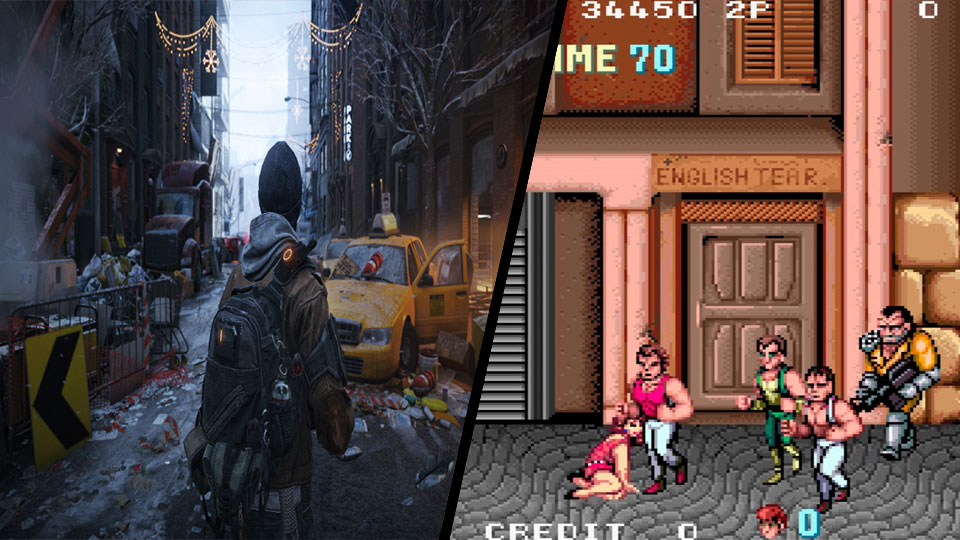 Double Dragon vs PS3